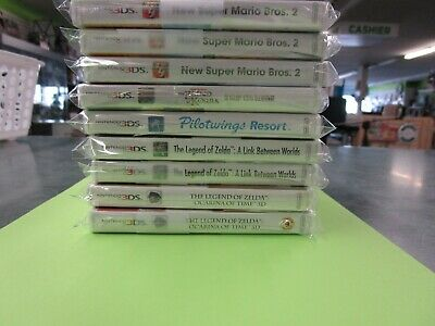 Nintendo 3ds Assorted games - Drop down menu - You Choose