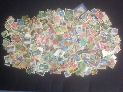 Collection of Over 1000 Used Stamps , All Countries,