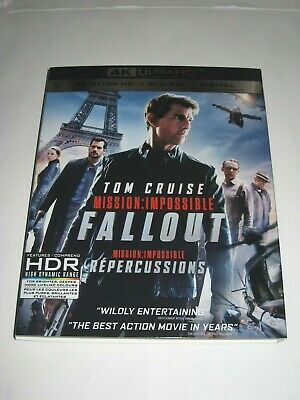Mission: Impossible –Fallout (4K Ultra HD slip cover only)No Disc No Blu Ray