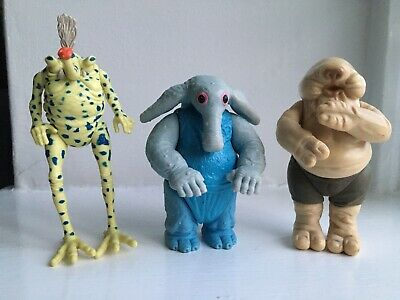 Vintage Star Wars Figures Sy Snootles And The Max Rebo Band Droopy McCool
