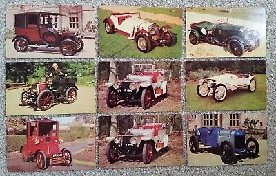 Mobil Top Performing Cars Cards x  9 - 1966