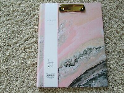 Clipfolio Blue Sky Notebook Daily Planner Diary Portfolio Clipboard Notes NEW