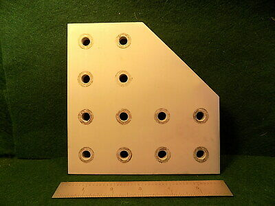 (1) 80/20 4328 15 Series 12 Hole Joining Plate USED