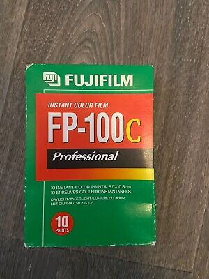 Fuji FP100c Film packs 2016 expiration, cold stored - One Pack