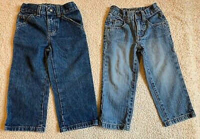 NEXT & SONOMA Boys Blue Denim Jeans 2 Pairs  Age 3 Yrs 2-3 Yrs Great Condition