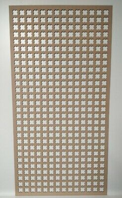 Radiator Cabinet Decorative Screening Perforated 3mm&6mm thick MDF laser cut K7