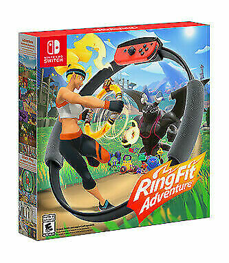 Ring Fit Adventure -- Standard Edition (Nintendo Switch, 2019) !PREORDER!