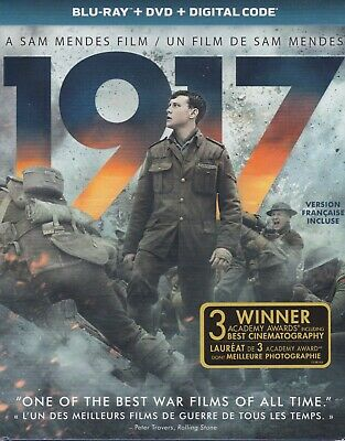 1917 BLURAY & DVD & DIGITAL SET with Colin Firth & Richard Madden & Mark Strong