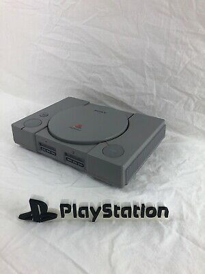 Sony PlayStation PS1 Gray Console System SCPH-5501 30 Day Warranty Console Only