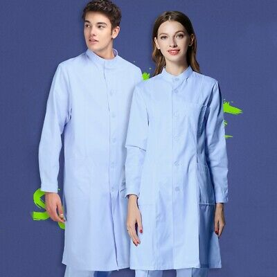 Unisex Surgical Gown Medical Clean Laboratory Doctor Surgeon Isolation Cover 1PC