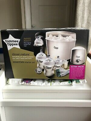 Original Tommee Tippee Complete Big Feeding Set (Closer to Nature) White