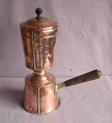 Vintage J Picard Arts and Crafts Copper & Brass Coffee Perculator