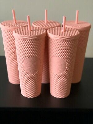 Starbucks Spring Collection 2020 Matte Pink Studded Tumbler