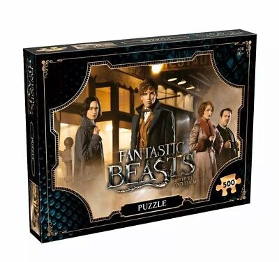 Harry Potter Fantastic Beasts Waddingtons 500 Pieces Jigsaw Puzzles Toy Game