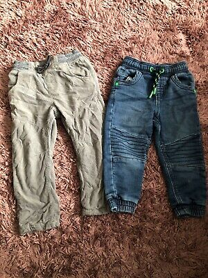 Baby Toddler Boys 18-24 Months 1.5-2 Years Jeans And Cord Trousers From Next