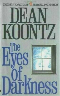 The Eyes Of Darkness By Dean Koontz Virus Outbreak 😷 ✅ 💥