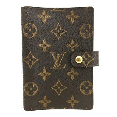 100% Authentic Louis Vuitton Monogram Agenda PM Notebook Cover /o395