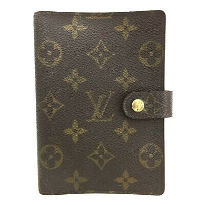 100% Authentic Louis Vuitton Monogram Agenda PM Notebook Cover /o397