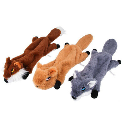Dog Toy Play Funny Pet Puppy Chew Squeaker Squeaky Cotton Sound Animal Toy N3