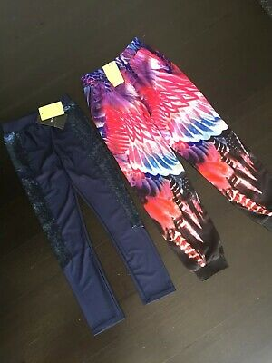 2 X Girls NWT BARDOT JUNIOR Leggings and Pants Size 7 RRP $89.90