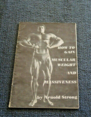A Mr Universe Physique Muscle Booklet By Arnold Strong Schwarzenegger 1973 #19