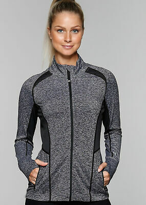 NEW WITHOUT TAGS! LORNA JANE Reign Active Zip Through Jacket Size XS RRP$139.99