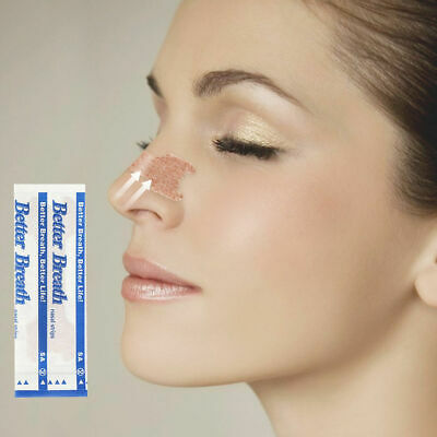 Anti Snoring Better Breath Sleeping Aid Nasal Nose Strips Easy Stop Snoring