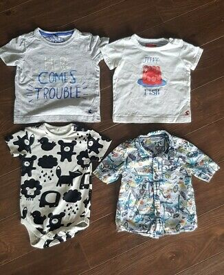 Baby Boys Summer Bundle. Age 12-18 Months. Joules, Next, F&F,