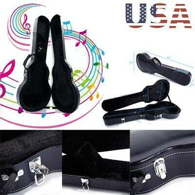 High Grade Guitar Box Portable Hard Case Bag Collect Case Padded Waterproof Gift
