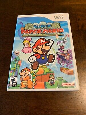Super Paper Mario (Nintendo Wii, 2007) Disc Needs To Be Resurfaced