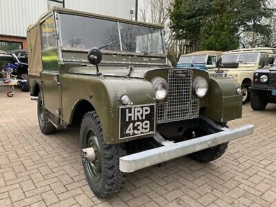Land Rover Series 1 Soft Top 1952
