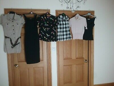 Bundle Of Ladies Clothes Size 10  Marks And Spencer blouse,Boohoo, Primark