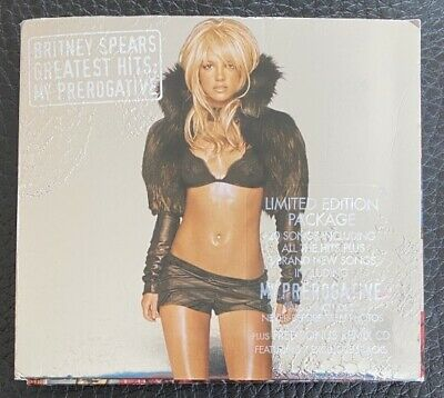 Britney Spears - Greatest Hits My Prerogative 2 Cds Limited Edition Digipack