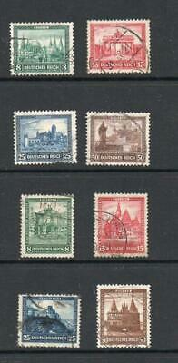 Germany 1930 and 1931 Welfare Sets Stamps Used Very High Catalogue Value G89