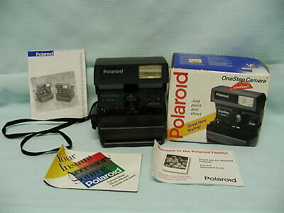 Vintage Polaroid One Step Close Up 600 Instant Film Camera Tested Working