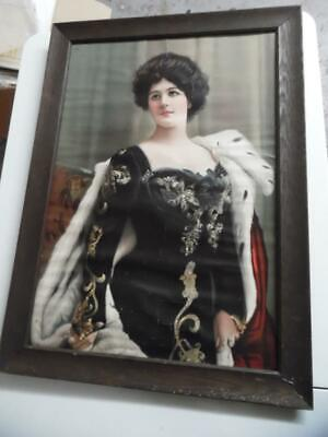 1902 Alice Roosevelt Our White House Queen Paper Sign Brown Shoe Company Antique