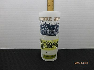 VTG Antique Auto Drinking Glass Tumbler Barware Nash Rambler Replacement Glass
