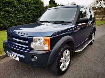 2005 55 Land Rover Discovery 2.7 3 Tdv6 Se 5D 188 Bhp Diesel