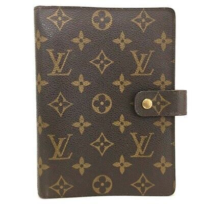 100% Authentic Louis Vuitton Monogram Agenda MM Notebook Cover /p199