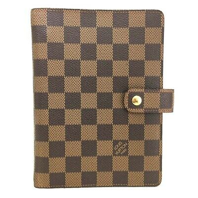 100% Authentic Louis Vuitton Damier Agenda MM Notebook Cover /p208