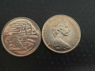 1976 20 Cent From Mint Roll UNC/BU - Very Rare