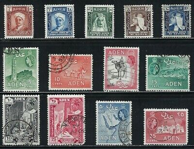 Aden - Very Nice Collection of Older Stamps................01N......... # 0324