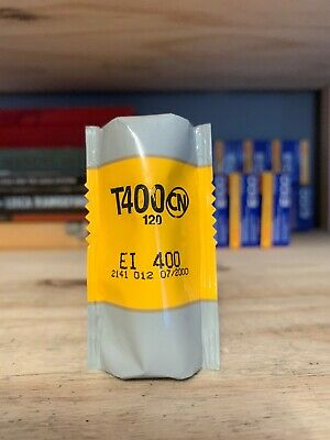Kodak T400CN 120 C41 Color Lab develop B&W Film Expired 2000 Cold stored 1 Roll