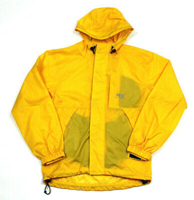 HELLY HANSEN Yellow Kids Unisex Girls Boys Shell Windbreaker Rain Jacket 12 XL