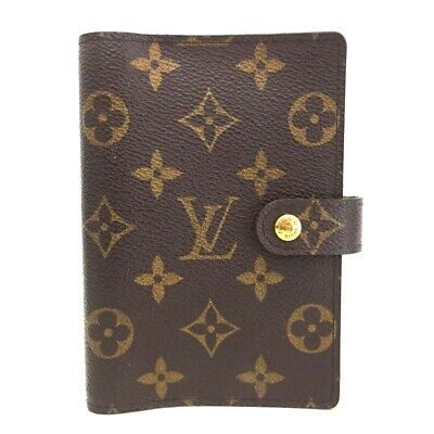 100% Authentic Louis Vuitton Monogram Agenda PM Notebook Cover / eGBC