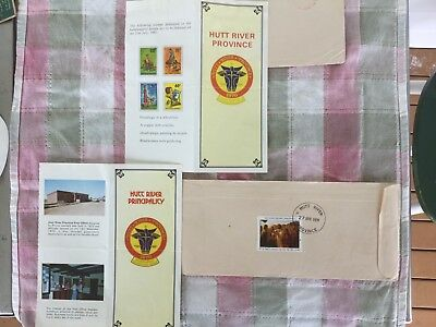 Hutt River Province 3 Stamped Envelopes And The Story