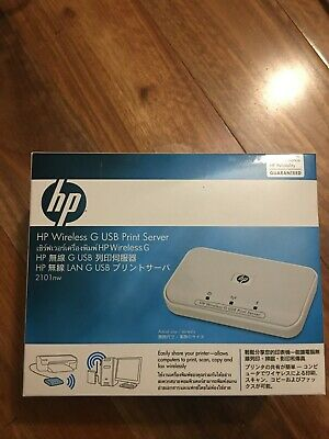 HP Wireless G USB Print Server 2101nw Q6302A