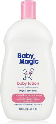 Baby Lotion With Original Baby Scent Camellia Oil Marshmallow Root 16.5 Oz