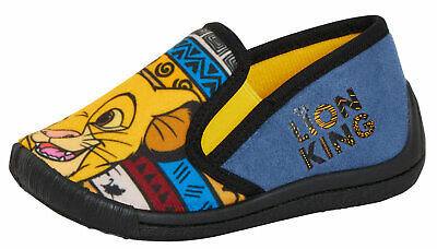 Boys Disney The Lion King Slippers Kids Simba House Shoes Slip on Booties Boots