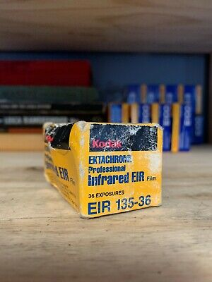 Kodak Ektachrome Infrared EIR 35mm 36ex 135-36 film Expiration 1998